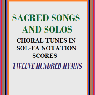 Sacred Songs and Solos (SS&S) - Hymns